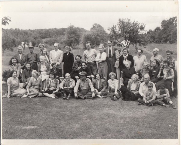 Early group photo 1946
