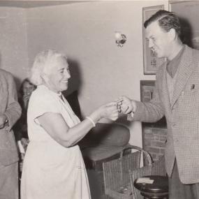 Belle Button and John Sellon